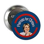 Patriots for Clinton campaign button