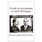 Accountant Catch Al Capone 25 x 35