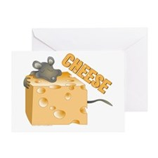 Mouse 'n Cheese Greeting Card
