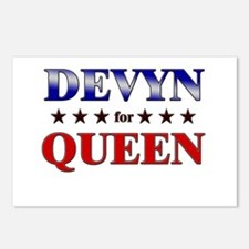 DEVYN for queen Postcards (Package of 8)