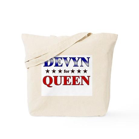 DEVYN for queen Tote Bag