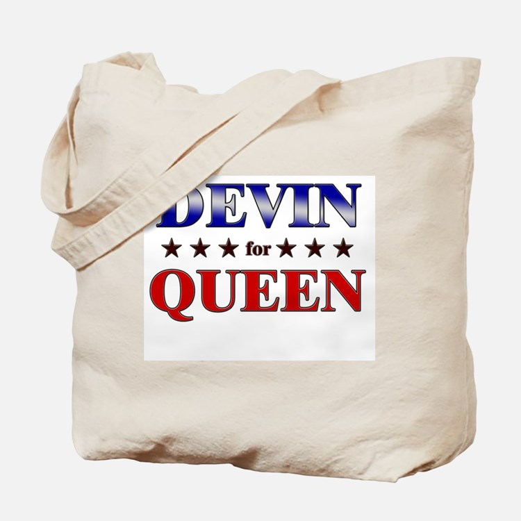 DEVIN for queen Tote Bag