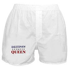DESTINEY for queen Boxer Shorts