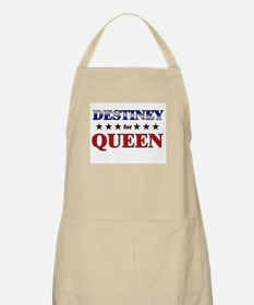 DESTINEY for queen BBQ Apron