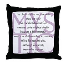 The Mystic Throw Pillow