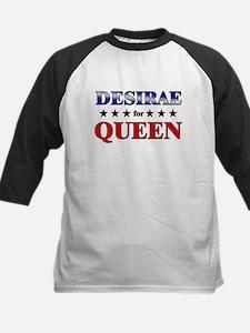 DESIRAE for queen Kids Baseball Jersey
