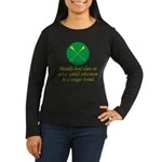 Heralds lend Class Women's Long Sleeve Dark T-Shir