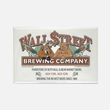 Wall Street Brewing Company Rectangle Magnet