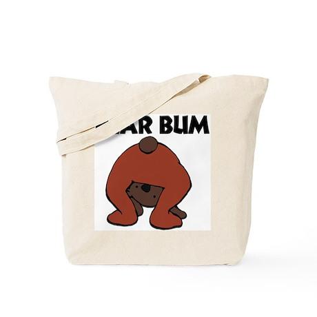 """""""BEAR BUM"""" Tote Bag"""