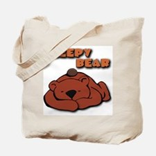 """Sleepy Bear"", Tote Bag"