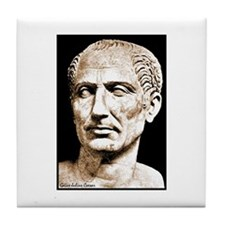 """Faces """"Julius Caesar"""" Tile Coaster"""