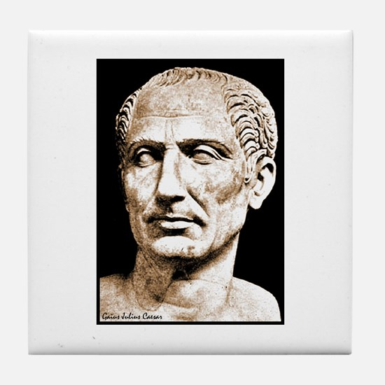 "Faces ""Julius Caesar"" Tile Coaster"