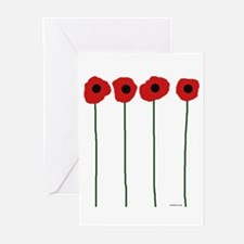 Poppies Greeting Cards (Pk of 10)
