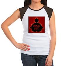 """Nice Set"" Women's Cap Sleeve T-Shirt"