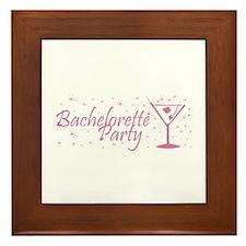 Bachelorette Party - Dusty Ro Framed Tile
