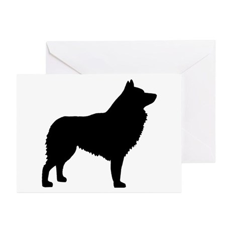 Schipperke Greeting Cards (Pk of 10)