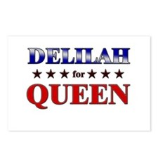 DELILAH for queen Postcards (Package of 8)