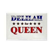 DELILAH for queen Rectangle Magnet