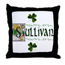 Sullivan Celtic Dragon Throw Pillow