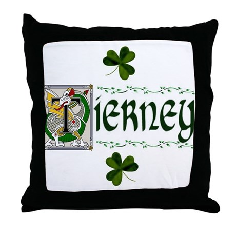 Tierney Celtic Dragon Throw Pillow