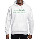 Jesus and Prius Hooded Sweatshirt
