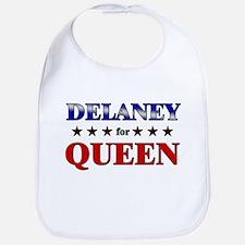 DELANEY for queen Bib