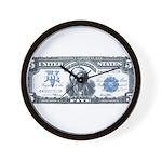 Injun Money Wall Clock