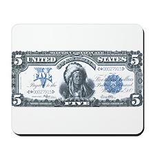 Injun Money Mousepad