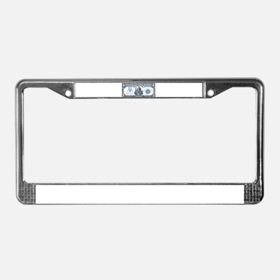 Injun Money License Plate Frame
