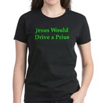 Jesus and Prius Women's Dark T-Shirt