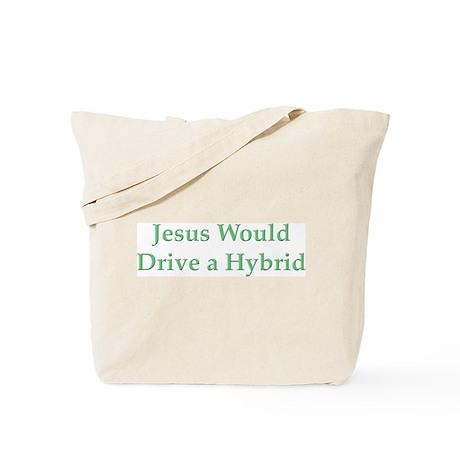 Jesus and Hybrid Tote Bag