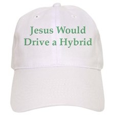 Jesus and Hybrid Baseball Cap