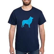 Blue Schipperke T-Shirt