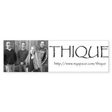 ThiqueBS Bumper Bumper Sticker