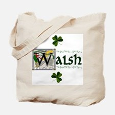 Walsh Celtic Dragon Tote Bag