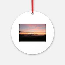 Sunrise Round Ornament
