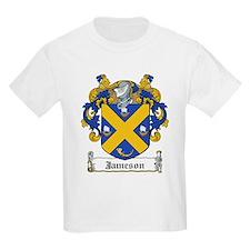 Jameson Family Crest Kids T-Shirt