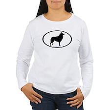 Schipperke Oval T-Shirt