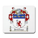 Jennings Family Crest Mousepad
