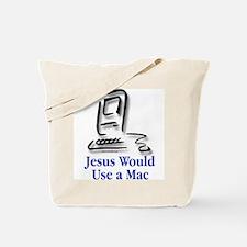 Jesus & Macintosh Tote Bag