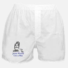 Jesus & Macintosh Boxer Shorts