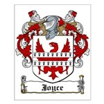 Joyce Family Crest Small Poster