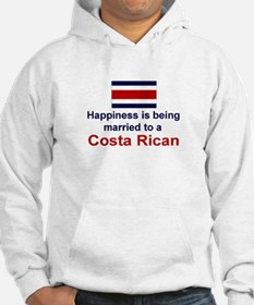 Happily Married To Costa Rican Jumper Hoody