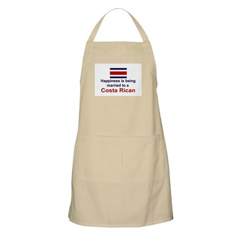 Happily Married To Costa Rican BBQ Apron