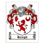 Keogh Family Crest Small Poster