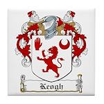 Keogh Family Crest Tile Coaster