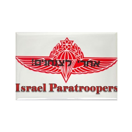 Israel Paratroopers Rectangle Magnet