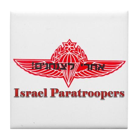Israel Paratroopers Tile Coaster