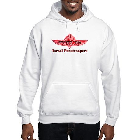 Israel Paratroopers Hooded Sweatshirt