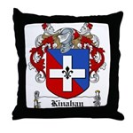Kinahan Family Crest Throw Pillow